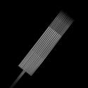 25 stk. Killer Ink Precision #10 0.30mm tatoveringsnål - sterilisert Rustfritt Stål Magnum Weaved