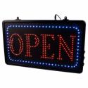 LED lysskilt OPEN - studio skilt EU