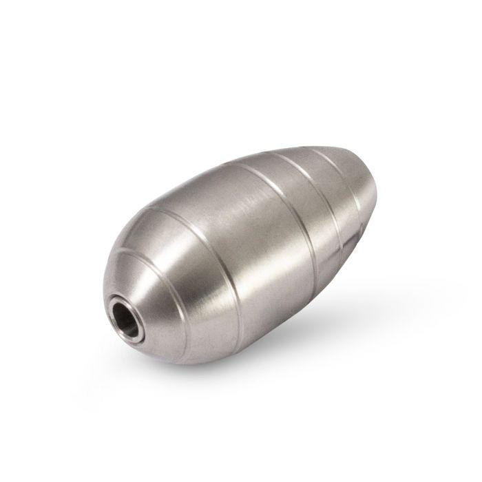316 Rustfritt stål 25mm tatoveringsgrep VI