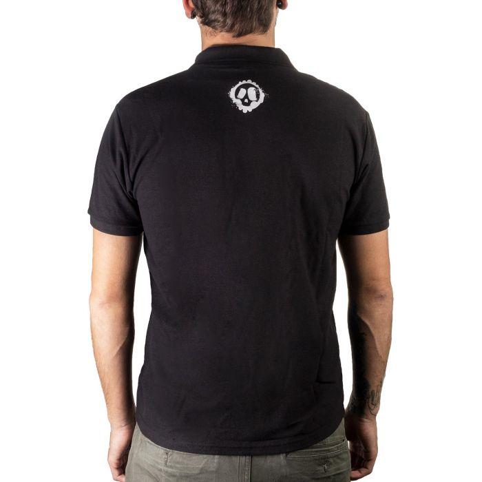 Killer Ink Polo skjorte i svart
