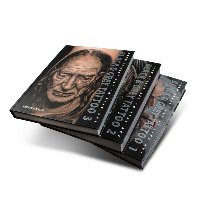 Black & Grey Tattoo : 1-3 Volume Set - Edition Reuss