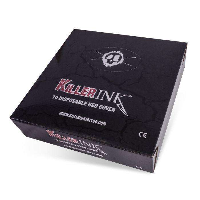 10 stk. Killer Ink elastisk plasttrekk for tatoveringsbenk 210x90x20cm