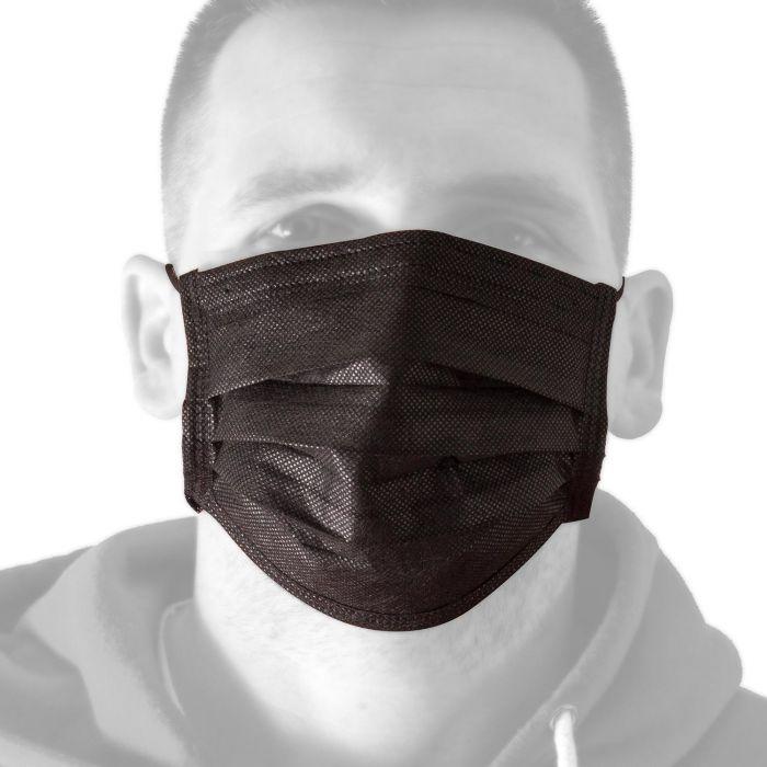 Eske med 50 Killer Ink Black Line Face Masks