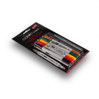 Copic CIAO Markers - Hues - Pakke med 5+1
