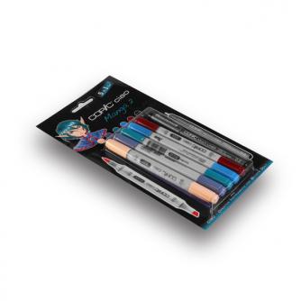 Copic CIAO Markers - Manga 2 - Pakke med 5+1