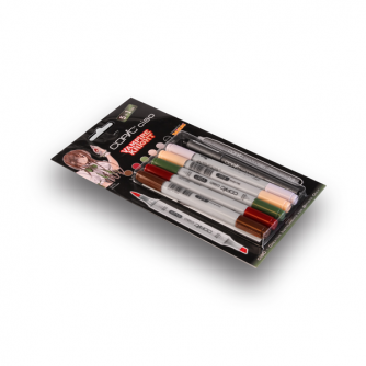 Copic CIAO Markers - Vampire Knight - Pakke med 5+1