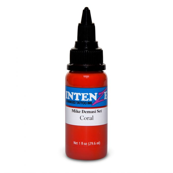 Intenze Ink Mike DeMasi Coral Portrait 30ml (1oz)