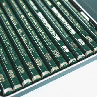 Faber-Castell - Castell 9000 Art sett med 12 blyanter