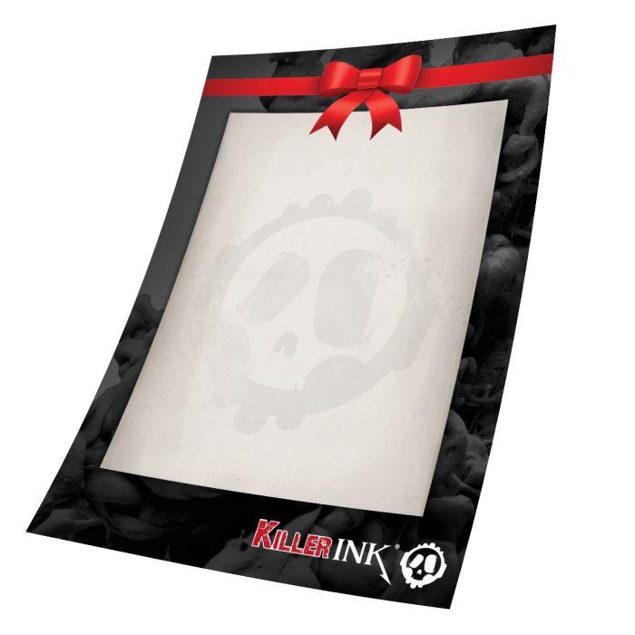 Killer Ink 2500NOK gavekort