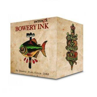 Komplett sett med 8 stk. Intenze Bowery Ink by Stan Moskowitz 30ml (1oz)
