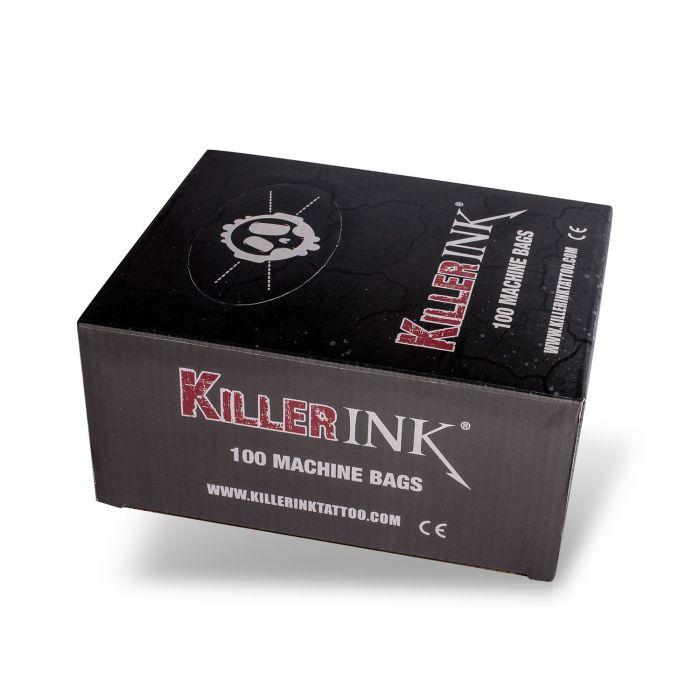 100 stk. Killer Ink tatoveringmaskin plastposer