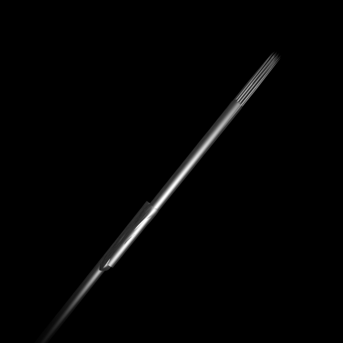 50 stk. Killer Ink Bug Pin 0.25mm tatoveringsnål - sterilisert Rustfritt Stål Round Shaders
