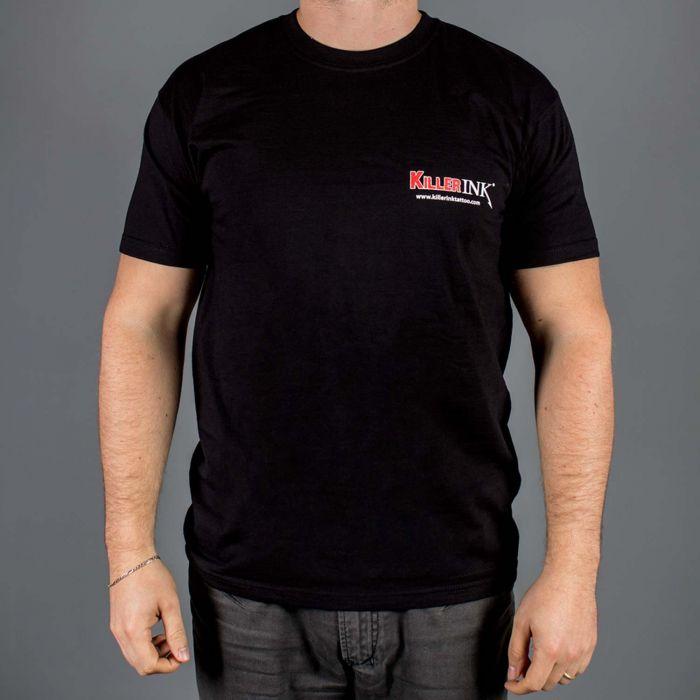 Killer Ink t-skjorte rund hals i svart