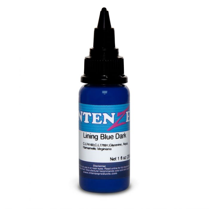 Intenze Ink Color Lining Series Lining Blue Dark 30ml (1oz)