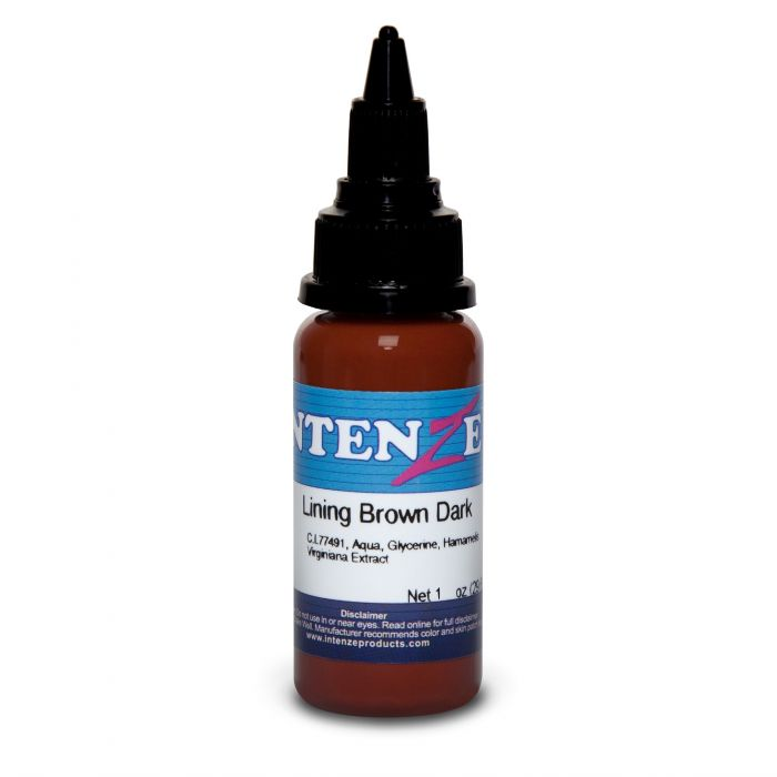 Intenze Ink Color Lining Series Lining Brown Dark 30ml (1oz)