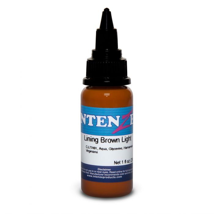Intenze Ink Color Lining Series Lining Brown Light 30ml (1oz)