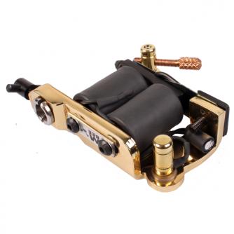 Micky Bee Original Brass Lightning tatoveringmaskin Colour Packer/Shader - Produsert i England