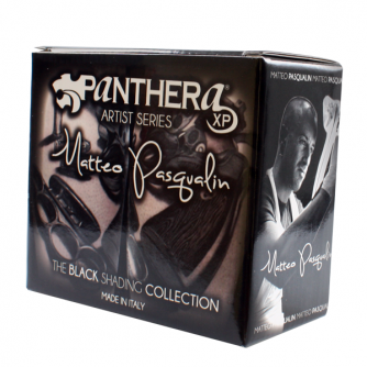 Komplett sett med 8 stk. Panthera Matteo Pasqualin - The Black Shading Collection 30ml