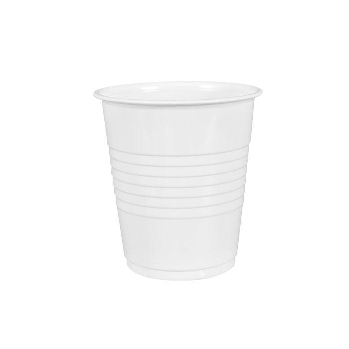 100 pk. Plastikk kopper for rengjøring/ultralydrensing