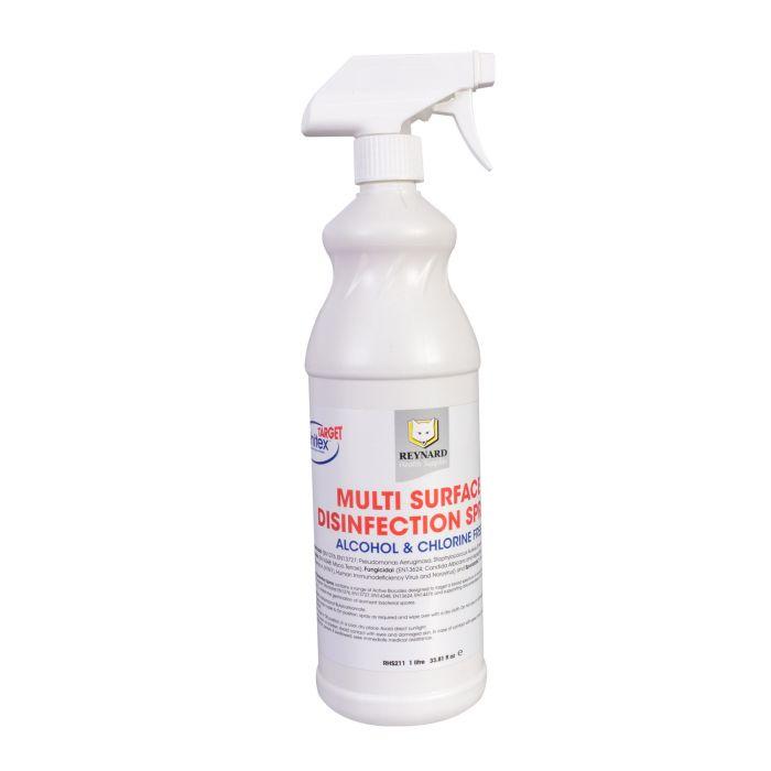 Reynard Multi-Surface Disinfection Spray - Alcohol + Chlorine Free 1L