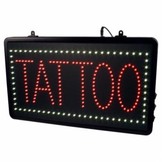 LED lysskilt TATTOO - studioskilt EU