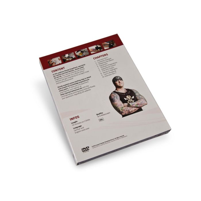 TattooSoul DVD - Randy Engelhard