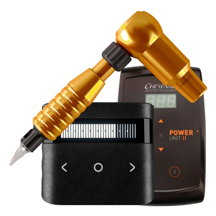 Cheyenne Hawk Thunder Drive + Grep + Strømforsyning pakke Oransje