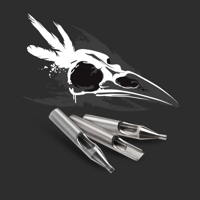 Killer ink 20 deler 316 Rustfritt ståltip Round, Diamond + Magnum Basic Set