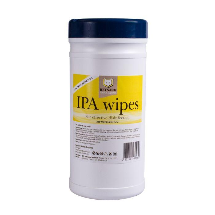 200 stk. Desinfiserende rense wipes